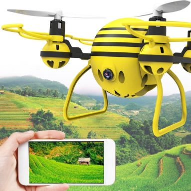 Yellow bee RC Drone