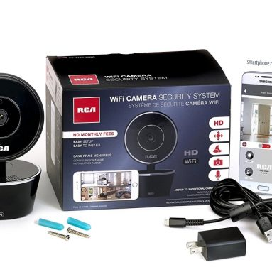 RCA WiFi Video Camera Home Security System with Motion Detection