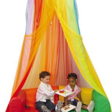 Rainbow Retreat Canopy For Kids