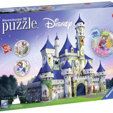 Ravensburger Disney Castle 216 Piece 3D Jigsaw Puzzle for Kids and Adults
