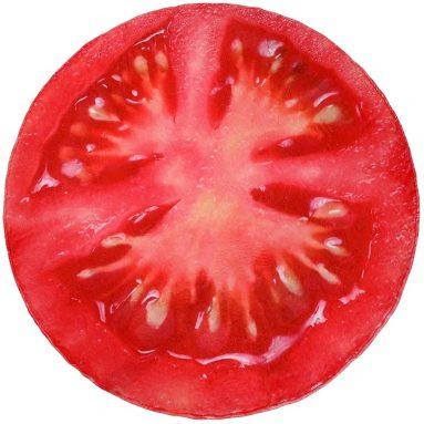 Tomato Giant Round Blanket