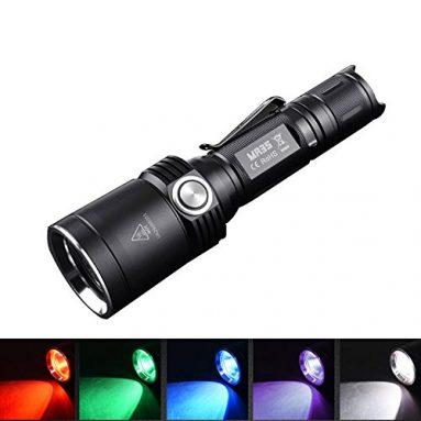 Rechargeable Portable UV LED Flashlight