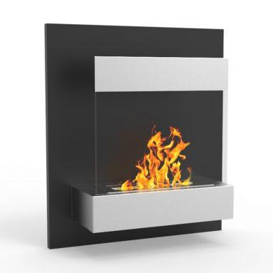Regal Flame Boston 24″ Ventless Bio Ethanol Wall Mounted Fireplace