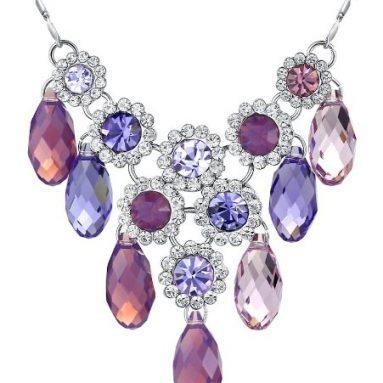 Regal Style Swarovski Elements Crystal Necklace