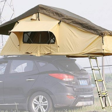Reliancer Ranger Overland Rooftop Tent Outdoor Camping SUV Roof Top Tent for 3 Person