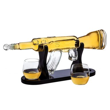 Rifle Gun Whiskey Decanter