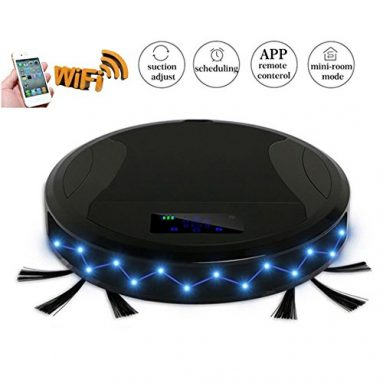Robotic Vacuum Cleaner with WIFI APP Control