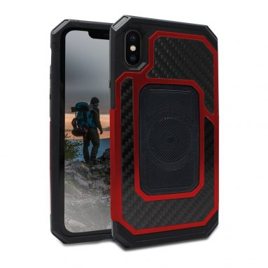 Rokform Fuzion Pro Series [iPhone X/XS] Protective Aluminum & Carbon Fiber Magnetic case