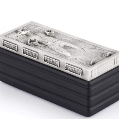 Royal Selangor Hand Finished Star Wars Collection Pewter Solo Frozen Container