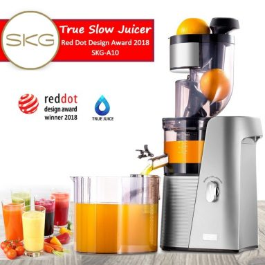 SKG Cold Press Juicer High Yield Juice Extractor