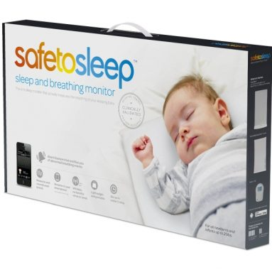 Safe To Sleep Sleep and Breathing Baby Monitor