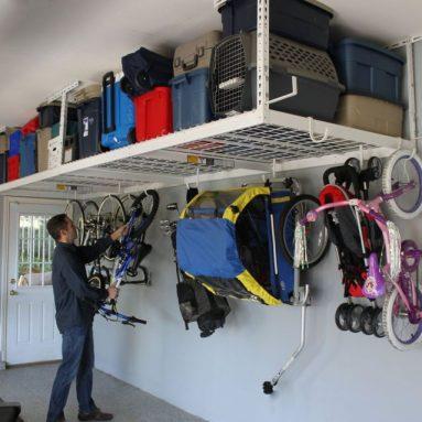 SafeRacks (2) 4×8 Overhead Garage Storage Racks Heavy Duty