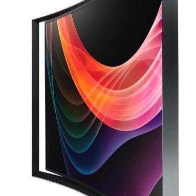 Samsung Curved Panel Smart 3D OLED HDTV