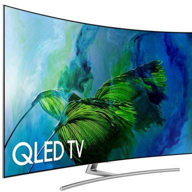 Samsung Curved 65-Inch 4K Ultra HD Smart QLED TV