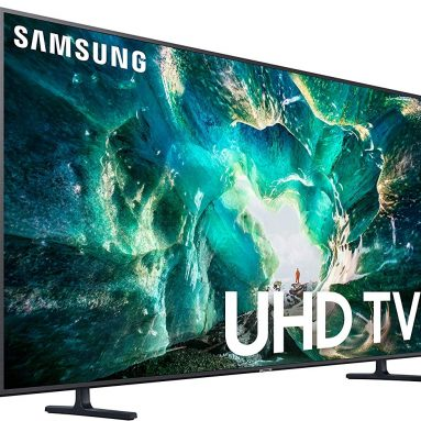 Samsung Flat 75-Inch 4K 8 Series Ultra HD Smart TV with HDR and Alexa Compatibility