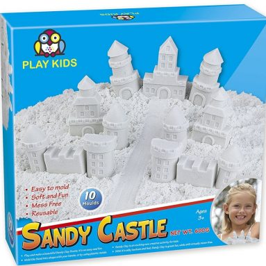 Sand Clay for Kids, Kinetic Sand & Molds Activity Set