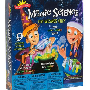 56% discount: Scientific Explorer Magic Science for Wizards Only Kit