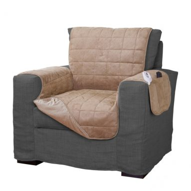 Quilted Electric Warming Furniture Chair Protector