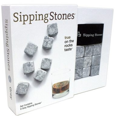 Set of 9 Grey Whisky Chilling Rocks