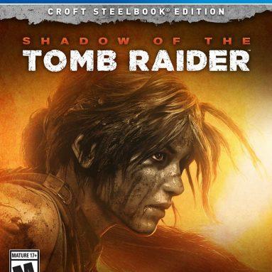 Shadow of the Tomb Raider (Croft Steelbook Edition) – PlayStation 4