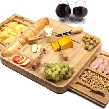 Shanik Bamboo Cheese Board Set