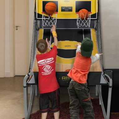 Sharpshooter Dual Shot Basketball Shootout Game