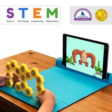 Shifu Plugo Link – Construction kit with Puzzles, Augmented Reality STEM Toy