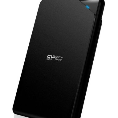 Silicon Power Stream 1TB Portable External Hard Drive USB 3.0