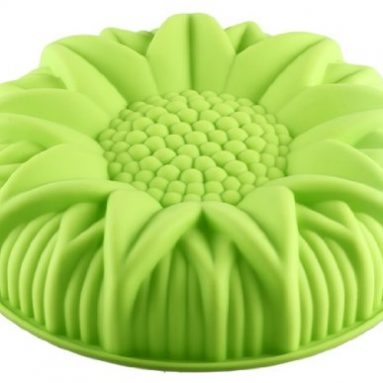 Silicone Sun Flower Shaped Cake Mould