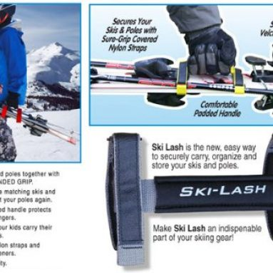 Ski-Lash ski carrier