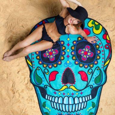 Skull Beach Blanket