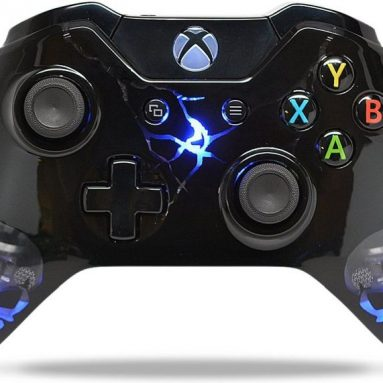 """Skulls Black"" Xbox One Rapid Fire Modded Controller"
