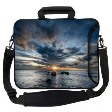 Sleeves 17-Inch Sunset Executive Laptop Case