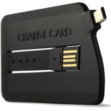 Slim USB Cable Credit Card Sized