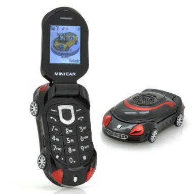 "Small Sports Car Mobile Phone ""Mini Car"""