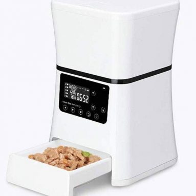 Smart Automatic Pet Feeder with HD Camera