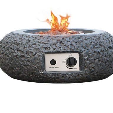 Smarten Arts Outdoor Propane Gas Fire Pit