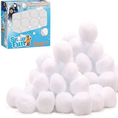 Snowballs for Indoor and Outdoor Fun