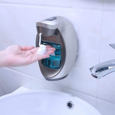Soap Dispenser Touchless Robotlike Foam