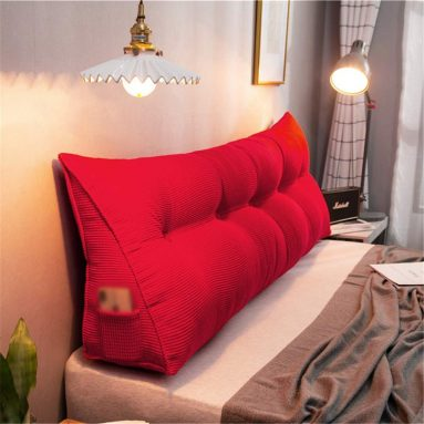 Sofa Bed Soft Headboard Filled Wedge