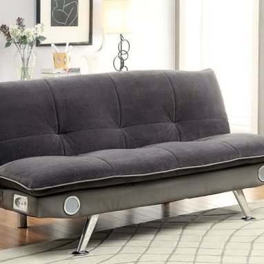 Sofa with Bluetooth Speaker System