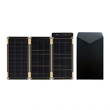 Solar Paper + Pouch, Paper-thin and Light Portable Solar Charger