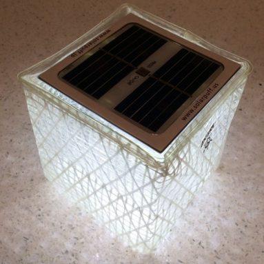 Solarpuff Portable Compact LED Solar Lantern