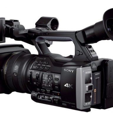 Sony 4K Camcorder Video Camera