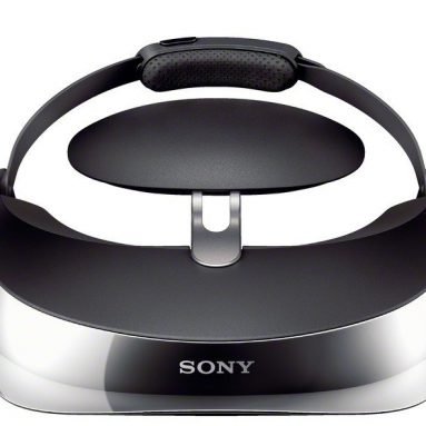 Sony Head Mounted 3-D Viewer
