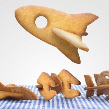Spaceship Cookie Cutters