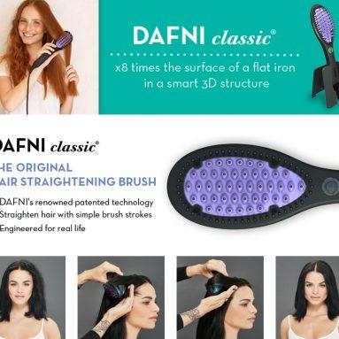 Special Edition Hair Straightening Ceramic Brush