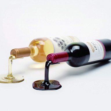 Spilled Wine Bottle Holder