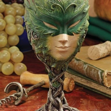 Spirits Greenman Lady of the Leaf Goblet