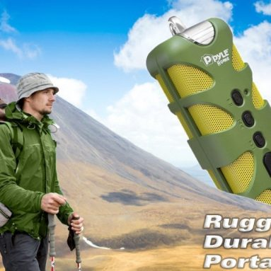 SoundBox Rugged and Waterproof Wireless Marine Grade Bluetooth Speaker
